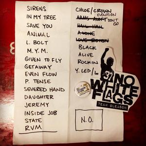Setlist photo from Pearl Jam - City Park, New Orleans, LA, USA - 1. Nov 2013