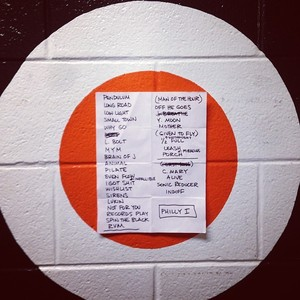 Setlist photo from Pearl Jam - Wells Fargo Center, Philadelphia, PA, USA - 21. Oct 2013