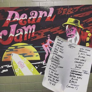Setlist photo from Pearl Jam - BB&T Center, Sunrise, FL, USA - 8. Apr 2016